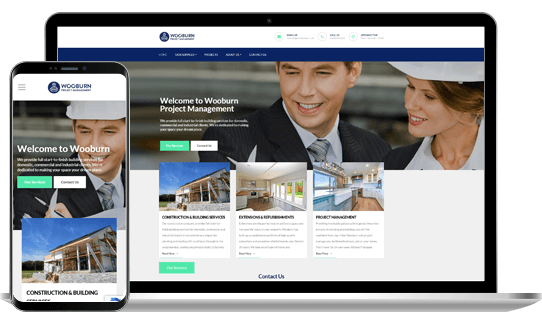 Wooburn - Website Design